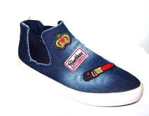 Jeans Sneaker high - Schlüpfsneaker Gr.41