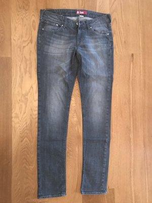 H&M Jeans slim fit grigio