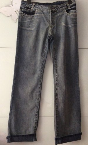 Jeans Stickerei Blue Hose Damen 42