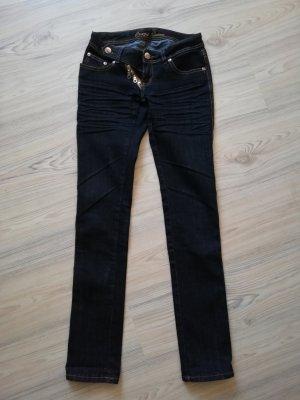 Tube Jeans dark blue-blue cotton