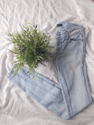 Jeans Strechjeans Helle Waschung Objekt slim Fit sexy eng
