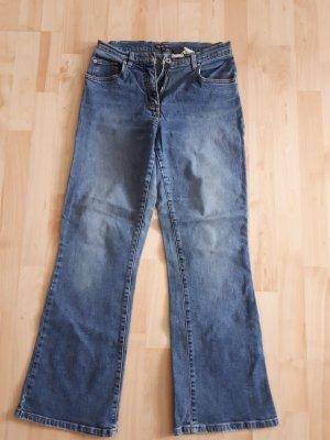 Street One Jeans bootcut bleu