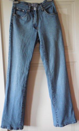 Jeans Street one Gr.25 XS blau lange Größe / High waist