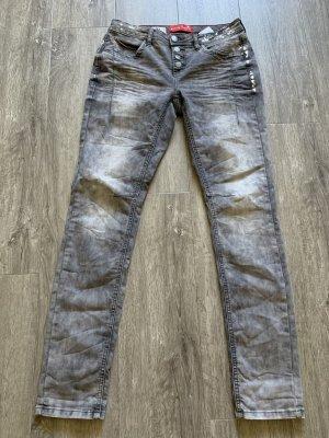 Street One Stretch jeans grijs