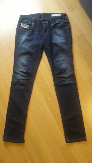 Jeans Stretch Hüfthose tiefer Sitz Skinny Low Waist Super Slim