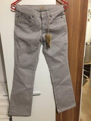 Jeans Stretchjeans Jeanshose *Gr. 17* Grau *AJC*
