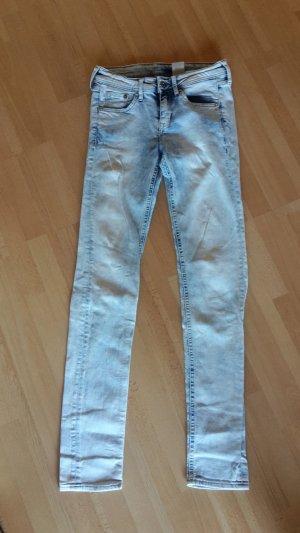 Jeans Stretchjeans Röhre Skinny Low Waist