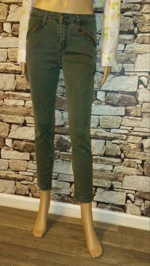 Jeans Super Skinny Fit von Just Blue in Grün