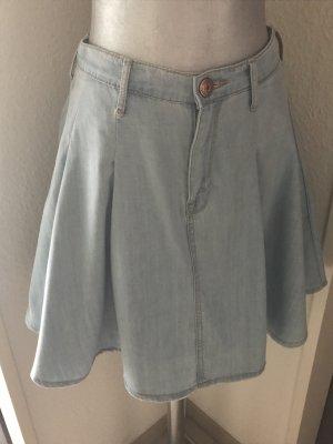 Jeans Tellerrock von H&M in hellblau