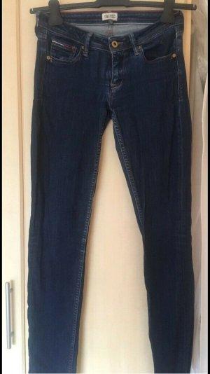 Jeans Tommy Hilfiger Hose blau Skinny Stretch W28 L32