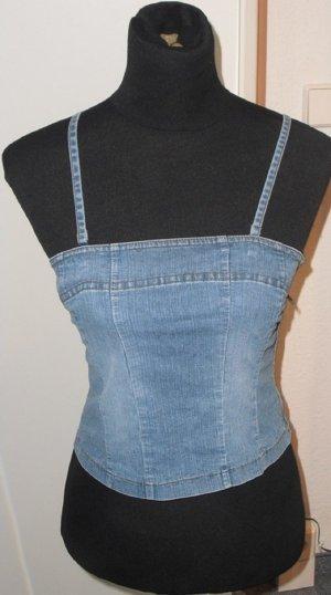 Jeans-Top - s.Oliver - zum Schnüren - Größe XS