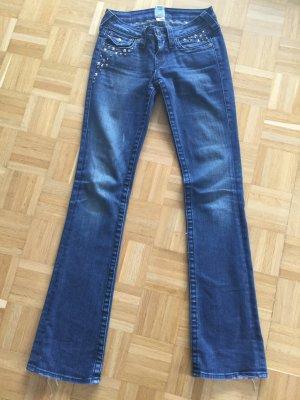 Jeans True Religion Bootcut  mit Nieten und Steinen 24