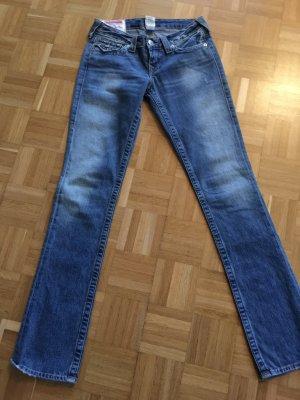Jeans True Religion mit Nieten und Strasssteinen 26