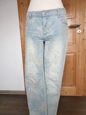 Jeans uesed#floral