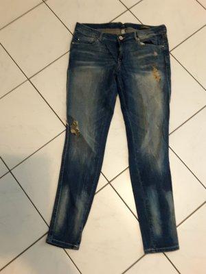 Jeans, used look, Mango Gr. 42
