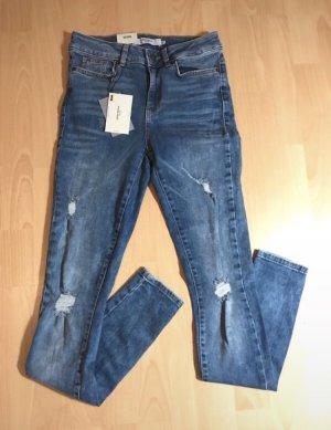 Jeans Vero Moda Seven skinny hellblau Größe 36 - 28/32 - S