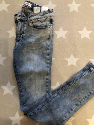 Jeans verwaschen Look