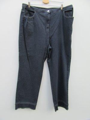 Jeans Vintage Retro Hose Stretch Gr. 52 Fransen