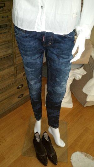 Jeans vom Luxus Label DSQUARED2 Camouflage Ital. 42 Deutsch Gr. 36