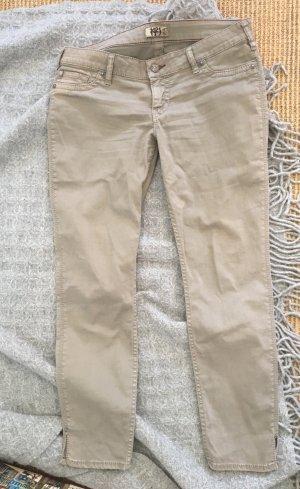 1921 Vaquero skinny beige claro tejido mezclado