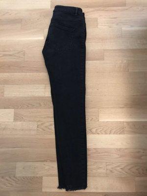 Jeans von 2nd day Birger, Größe 31. 1x getragen Dunkelgrau/schwarz