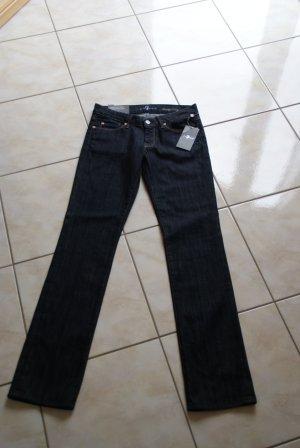 7 For All Mankind Jeans elasticizzati blu scuro Cotone