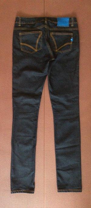 Adidas Originals Slim Jeans dark blue