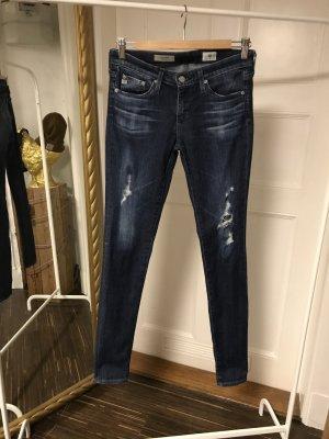 Adriano Goldschmied Jeans skinny blu scuro