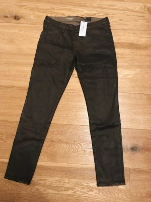 AG Jeans Skinny Jeans black brown