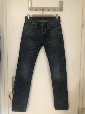 All Saints Jeans boyfriend bleu foncé