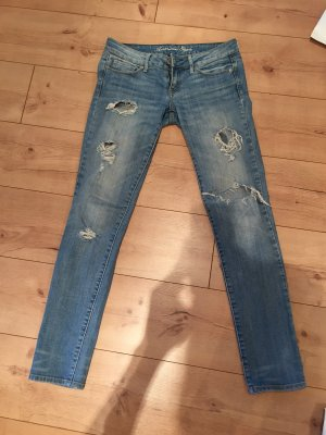 American Eagle Outfitters Low Rise jeans lichtblauw