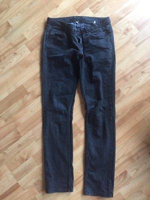 Jeans von Amisu schwarz