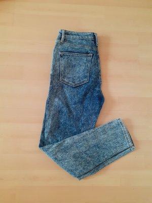 BDG Jeans taille haute bleu azur