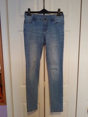 C&A Tube jeans blauw