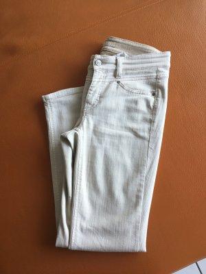 Cambio Jeans Vaquero elásticos beige