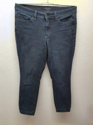 Cambio 7/8-jeans blauw-donkerblauw