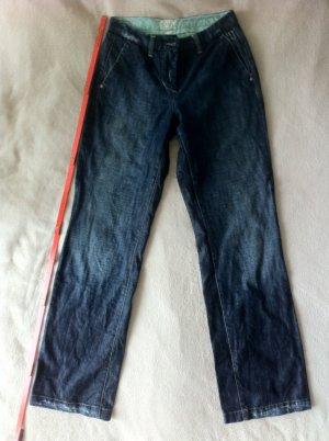 Jeans von Cambio mit weitem, geraden Bein