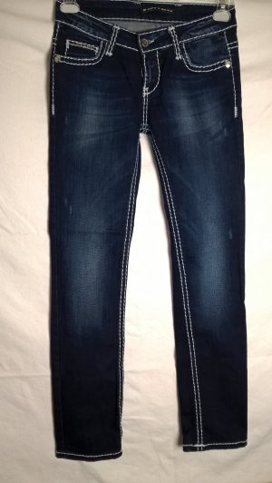Cipo & Baxx Low Rise Jeans dark blue