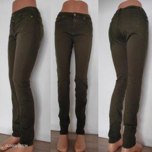 Closed Skinny Jeans green grey-khaki