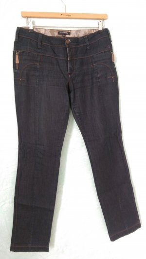Comma Stretch jeans donkerblauw
