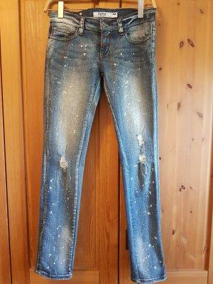 Jeans slim bleu pâle
