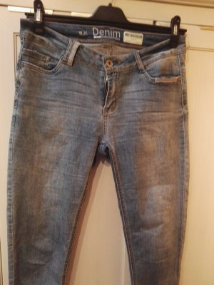 Denim Identity Jeans skinny bleu pâle