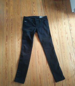 Diesel Stretch jeans zwart