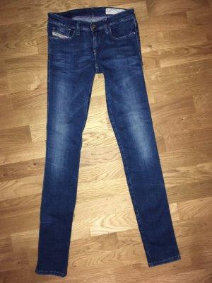 Diesel Slim jeans staalblauw-korenblauw