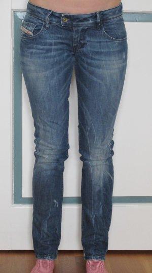 Diesel Stretch jeans blauw Katoen