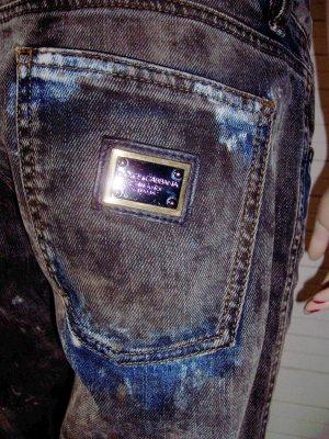 Dolce & Gabbana Boyfriend jeans donkergrijs-blauw