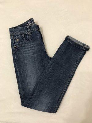 edc by Esprit Slim jeans staalblauw