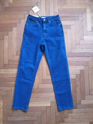 Edited High Waist Jeans dark blue