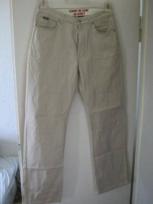 Esprit Hoge taille jeans zandig bruin