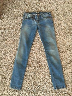 Fornarina Jeans slim bleu coton